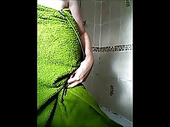 Hidden cam catches my mum in the shower