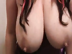Big lacting Tits