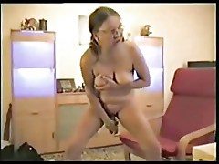 Watch my mature bitch masturbating. Home made amateur