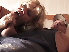 Bea Dumas and The Handy Man. HQ with nice Facial to finish.