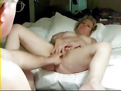 Hot mature wife loves to be watched. Amateur older