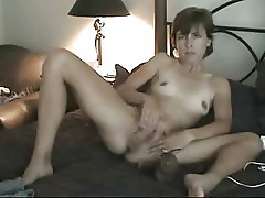 My beautifull wife masturbating for me. Home made amateur