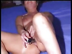 Mature italian wife masturbates. Amateur