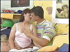 SEXY MATURE 20  mother seduce youg boy for fist sex lesson