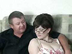 Hot Mature Stepmom Smoking Threeway