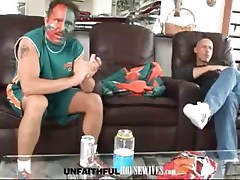 Tyler Faith and Mark Davis are a lovely couple who get fuckin' on a black couch