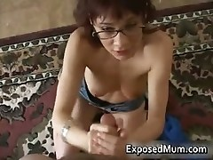 Redhead mom licking balls and deepthroat part6