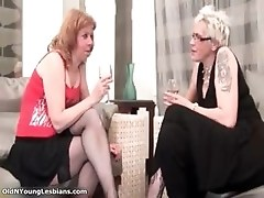 Horny mature blond lesbian woman part2