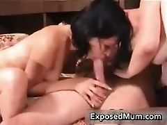 Penis hungry moms screwing on the sofa  part4