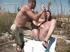 Horny MILF gets her hairy muf fucked part6