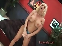 mature blonde sucks and fucks a loaded cock