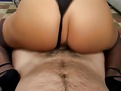 Hot Busty Mature Cougar In Heels Rides Cock