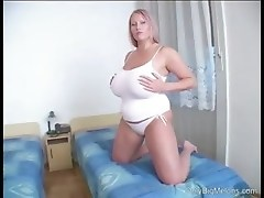 Laura Orsolya Big Boobs Play
