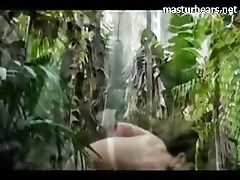Brigit fingering pussy in the wilderness