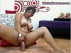 Hot Latina Showing Big Natural Tits