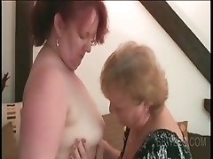 Stripping BBW lesbo matures teasing each others assets