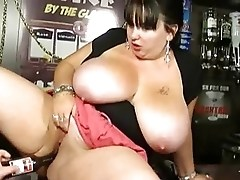 Very beauty BBW with natural giant boobs!