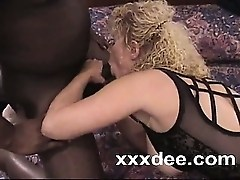Ebony penis in older kitty