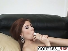 Having a Threesome with a Mature Couple