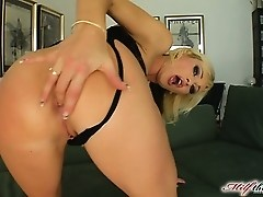 Betty is in her late thirties and she just loves cock. She takes our guy's dick deep inside her ass.