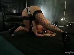 Kelly Madison Gets Her Freak On In The Basement