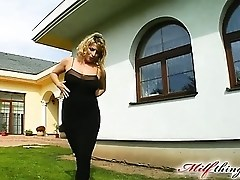 This horny big titted MILF takes on two guys. Her favorite thing is getting fucked in the ass. Our g