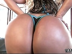 Amazing ass Nikki Delano pleasures a cock