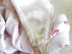 Cleaning Mother In Laws Dirty Panties