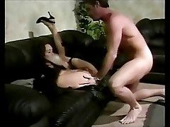 Lady Fucked in Sofa