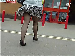 Seamed stockings 8