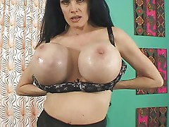 Sofia Staks mature bitch have broken pussy and gigantic tits