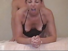 Mature Woman gets first time anal