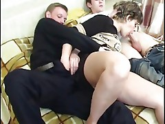 Mature with 2 guys