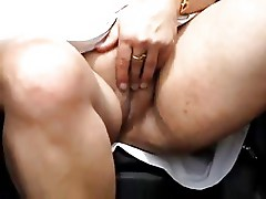 Public exhibition of my horny mature slut