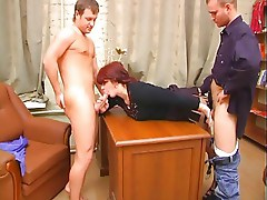 Redhead Chubby Mature mother