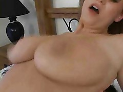 Busty french maid gets fucked