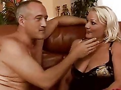 Hot Cougar Cecily Bangs Older Man
