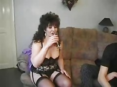 Big British milf first time anal