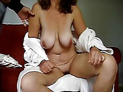 boobs blowjob mature wife