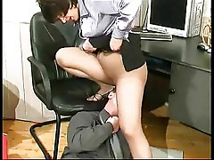 A phenomenal mature fucked by a young