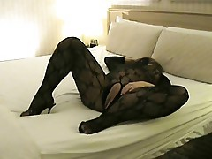 My Wife Teases Me in a Body Stocking