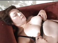 Mature BBW getting pleasured
