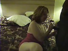 Sexy Mature works a BBC - pt1