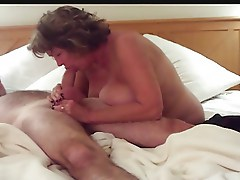 Big Tits Mature Deepthroats and Handjobs