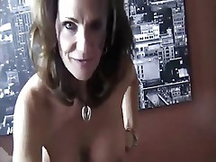 Mature Gives A Handjob