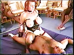 Mature Redhead's Black Cock Party Pt-4