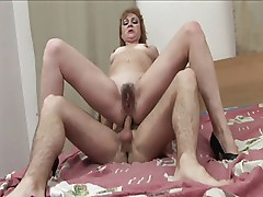 Mature Milf with Little Titties Fucks