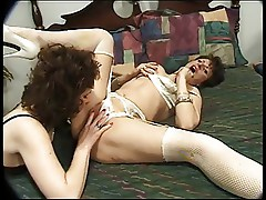 Classic Hot Mature Candy Cooze Threesome