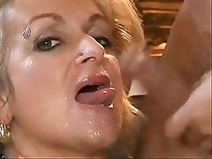 Mature Karola  that Look ( sloppy blow Job)