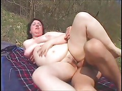 PATRICIA - chubby milf outdoors